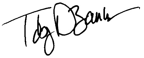 Toby DeBause signature