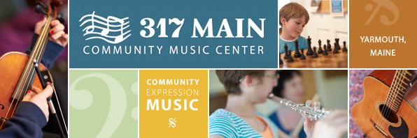 Click here to visit 317 Main Community Music Center. Music lessons in Yarmouth, Maine.