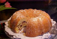 Wickwood's Sour Cream Coffee Cake