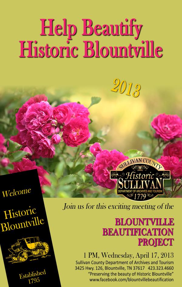 Historic Blountville Beautification 2013