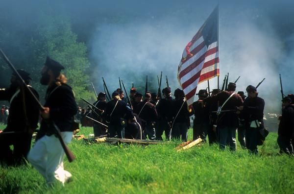 Union forces at Battle of Blountville