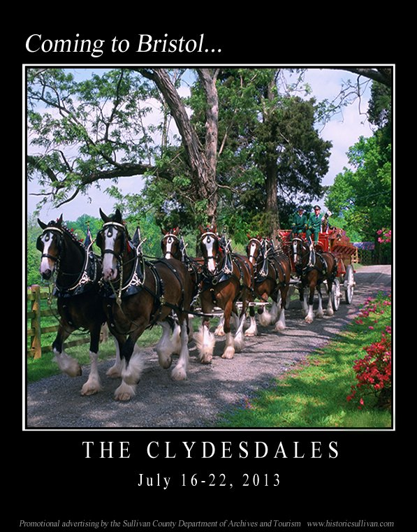 The Clydesdales coming to Bristol