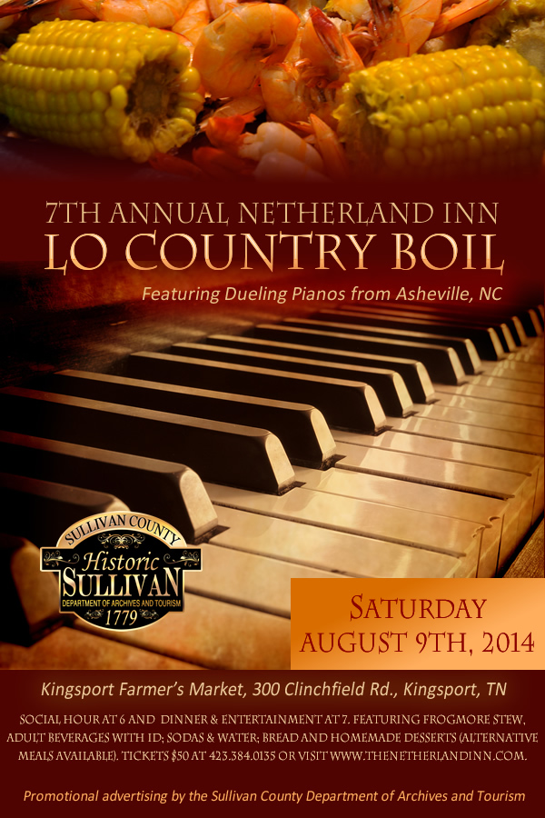 7th Annual Netherland Inn Lo Country Boil