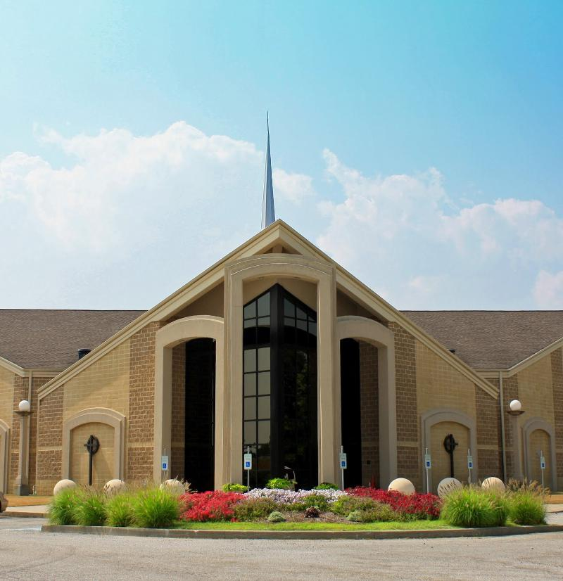 Church Landscaping Design