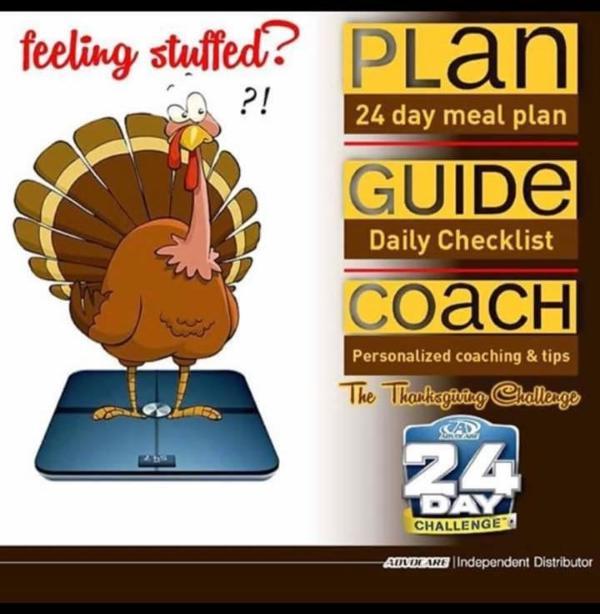 Advocare Thanksgiving Challenge