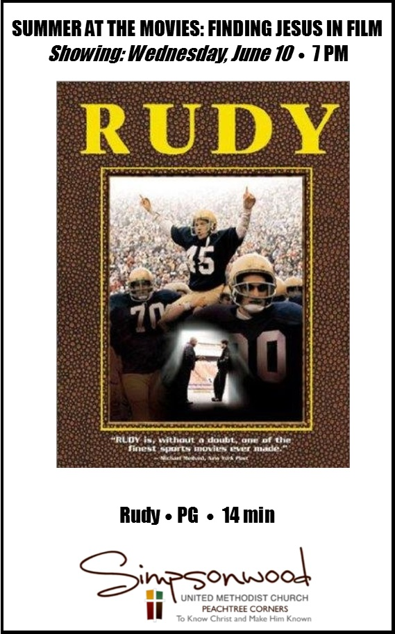 the movie rudy Read the rudy movie synopsis, view the movie trailer, get cast and crew information, see movie photos, and more on moviescom.
