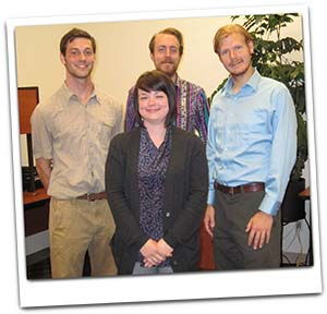 MCUCD's four VISTA members in the office