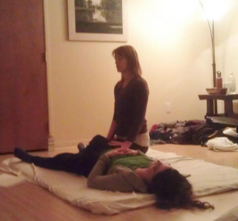 leslie and jess thai yoga massage