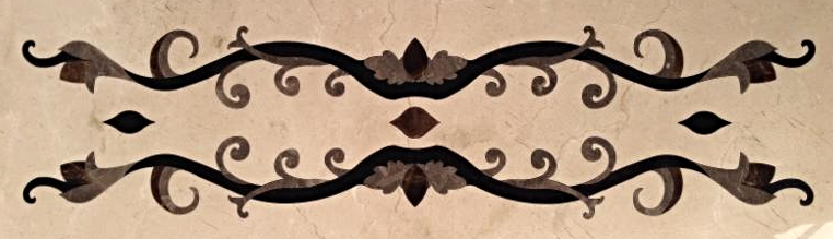 Marble Border Inlay