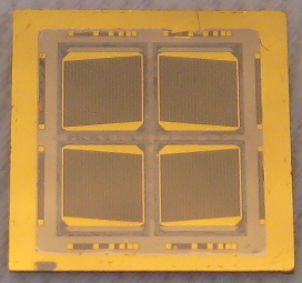 Bonded two-terminal multijunction solar cell