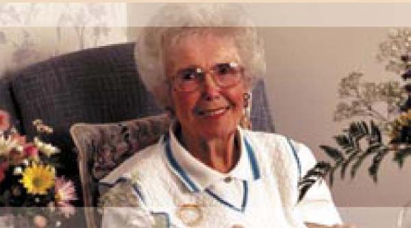 Smiling Senior Lady