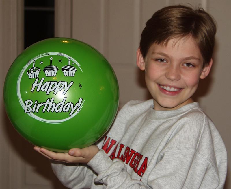 Boy with Giggle Ball