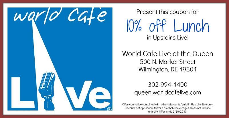 coupon world cafe