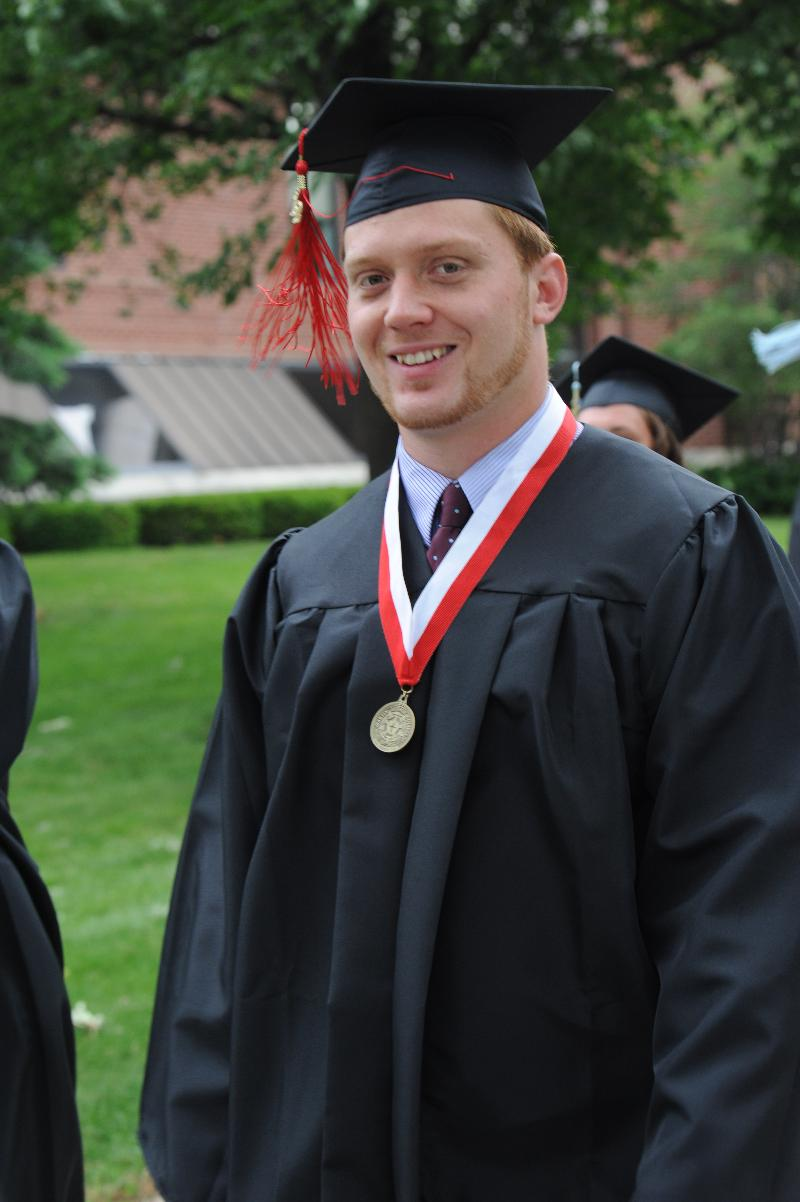 Andrew Loescher graduation 2012