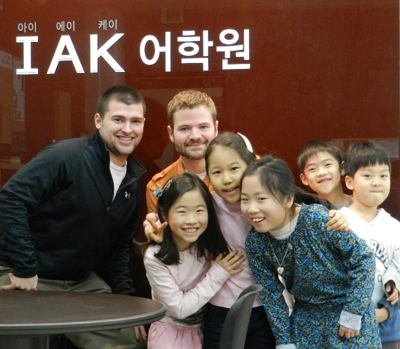 Nate Gartner in South Korea
