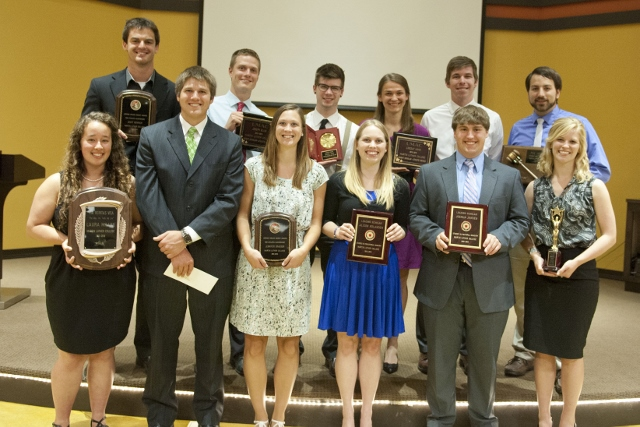 2013 Senior Award Winners