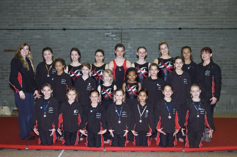 Regional Gymnastics Winners 2012
