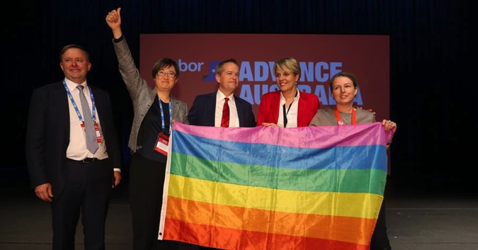Bill Shorten backs same sex marriage