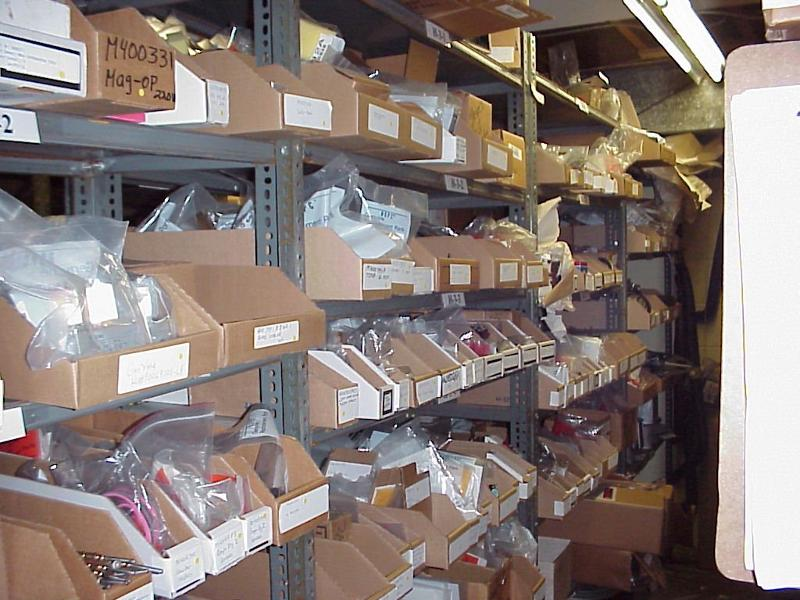 Fully Stocked Parts room