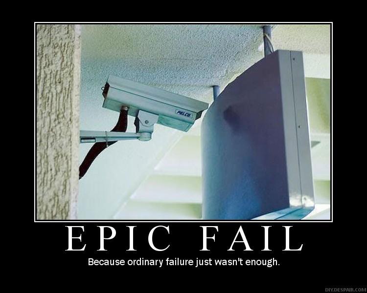 Epic Camera failure