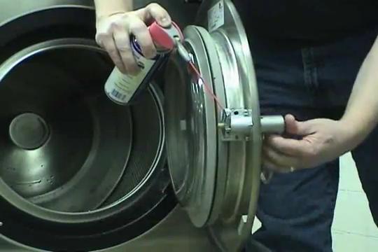 Huebsch washer P/M video
