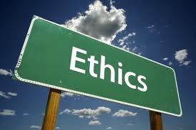 Ethics Big Sign