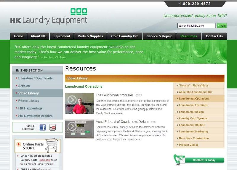 Website Video Page