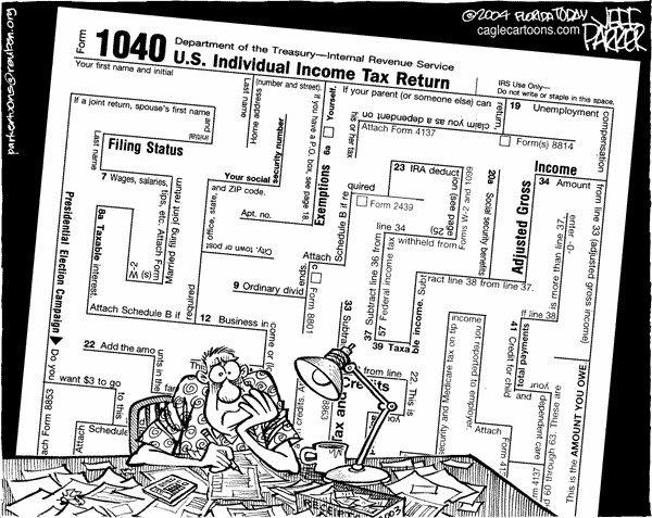 Humor 1040 Maze