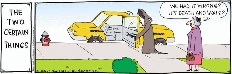 Humor Death & Taxis