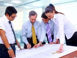 Team Businessmen