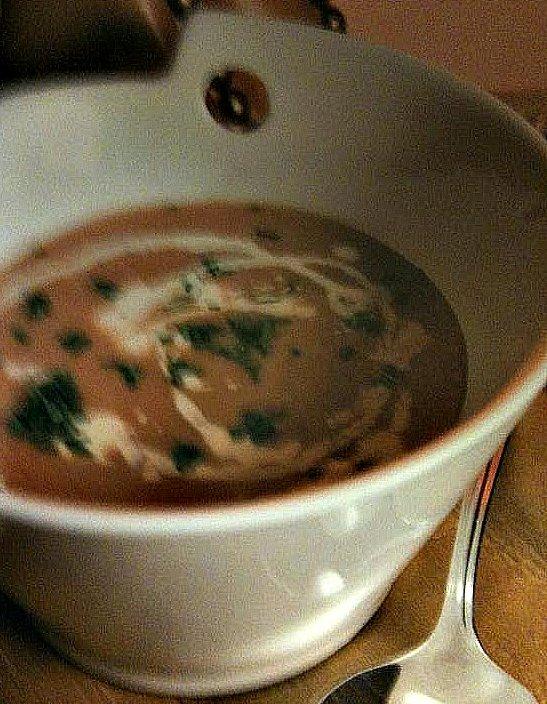 rooibos corn soup