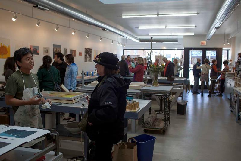 demo opening gallery shop