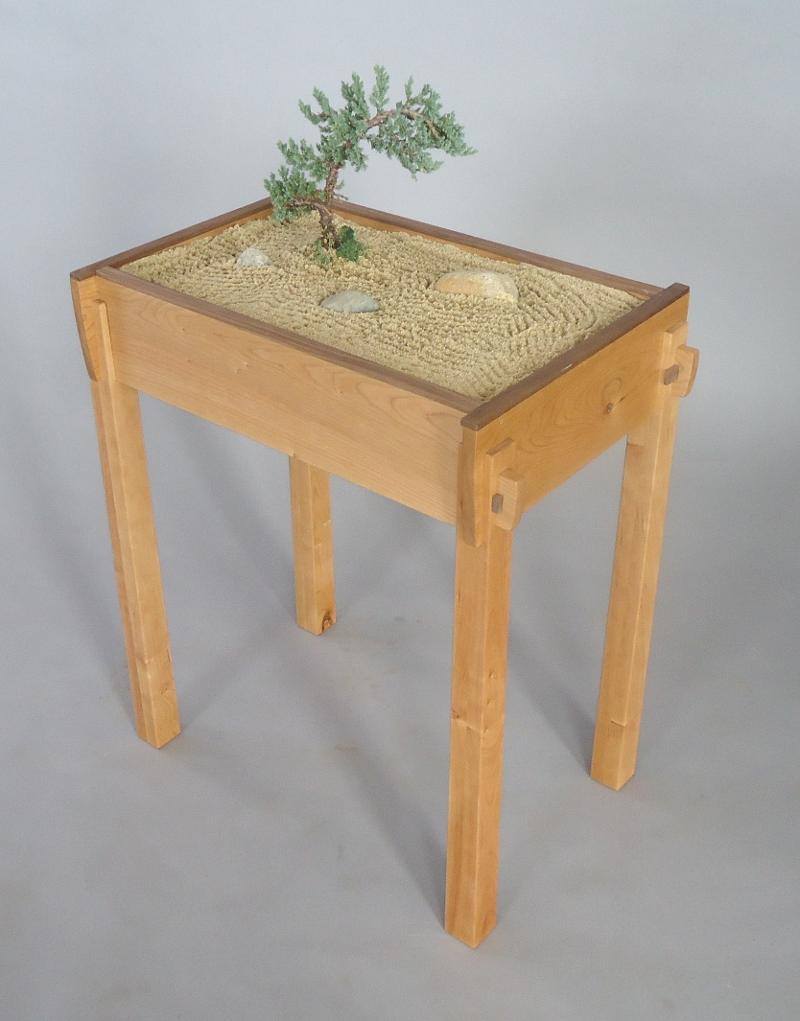 New kyoto spirit zen garden table bar harbor music for Table zen garden