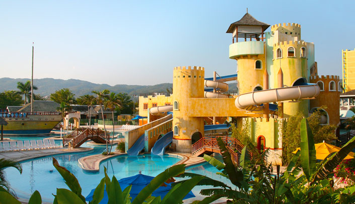SUNSET Beach WATERpark- Jamaica, Montego Bay