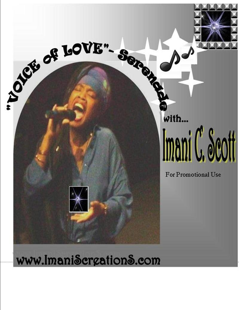 CD- Voice of Love- Imani- FULL