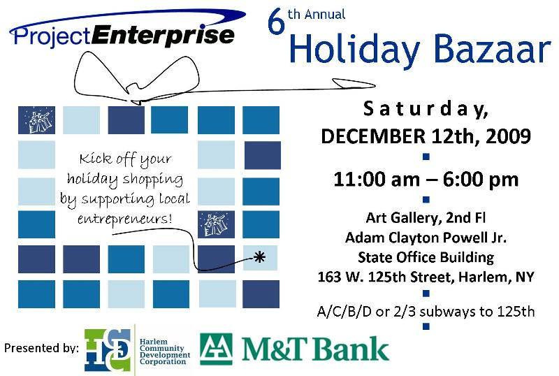 FLYER- Project Enterprise HOLIDAY