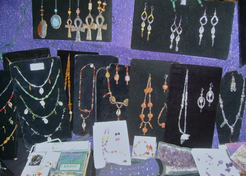 I.C Jewelry Display- Necklaces, Ankhlets 1