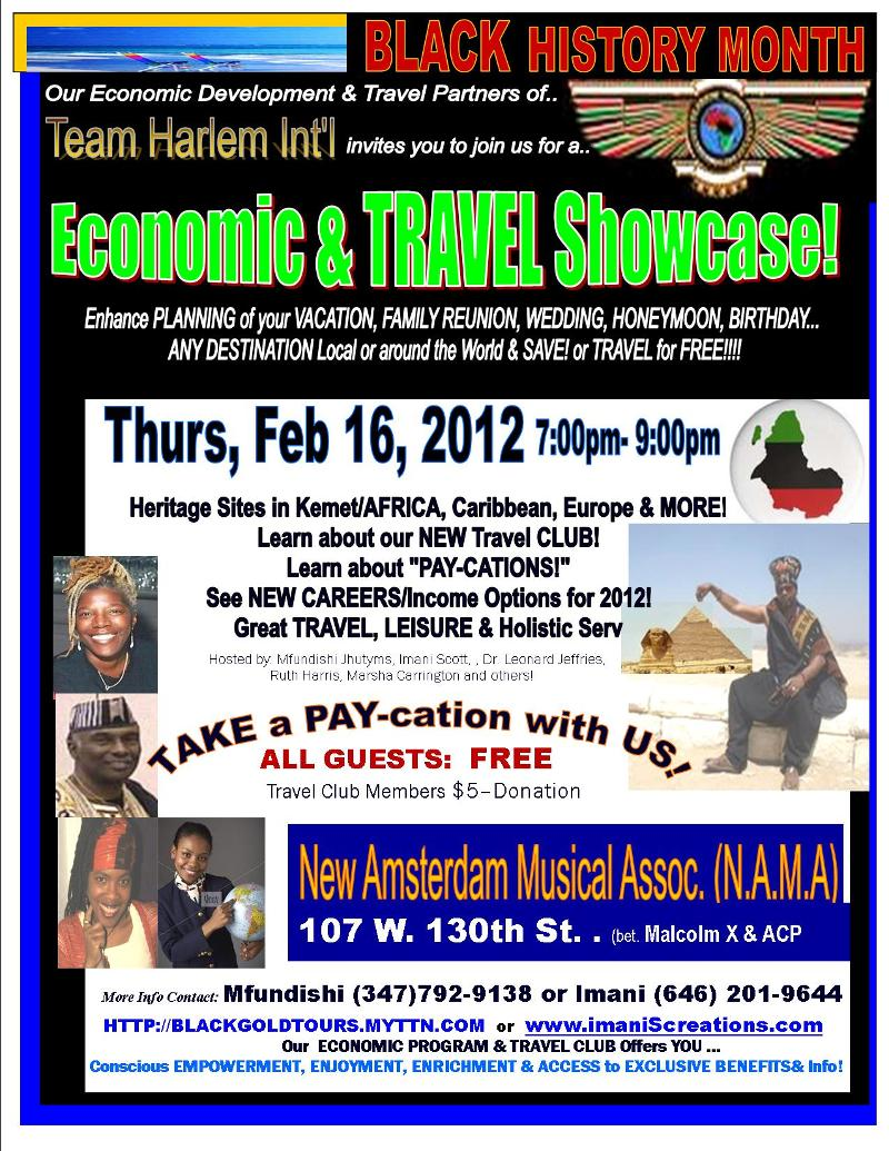 FLYER- TRAVEL & Economic SESSION NAMA