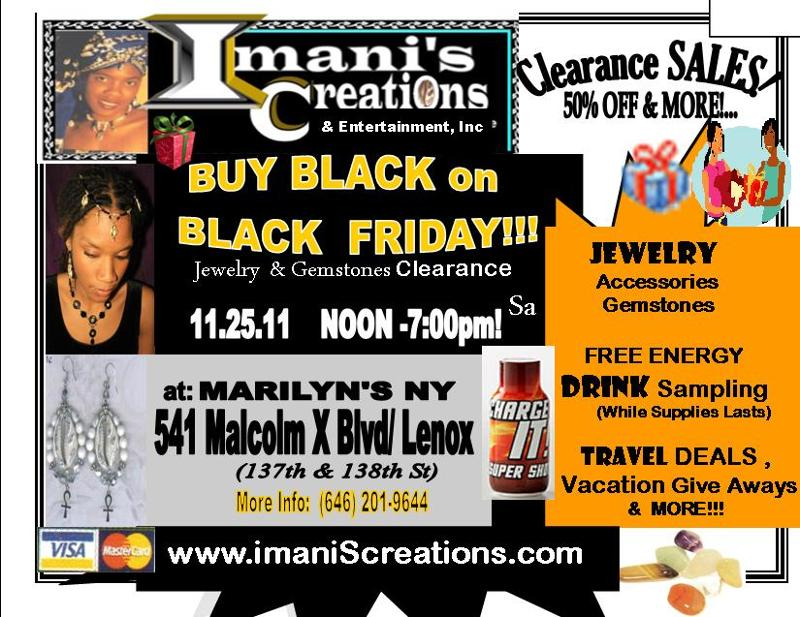 Flyer- I.C BUY BLACK FRIDAY! at MARILYN'S