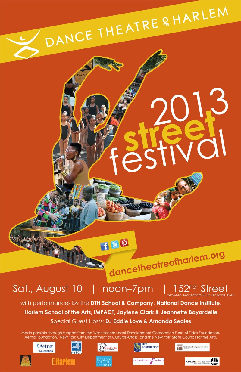 FLYER- DANCE THEATRE of HARLEM FESTIVAL 2013