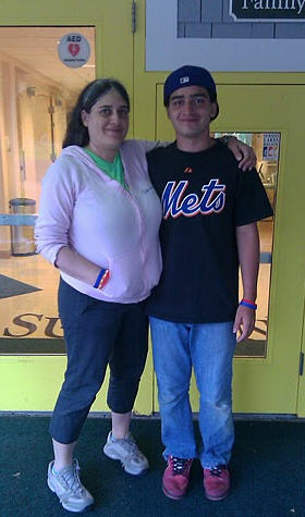 Nancy Cincotta and her son AJ