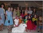 masquerade party at camp