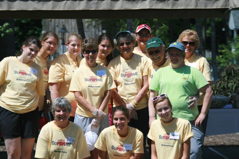 Camp Sunshine volunteers
