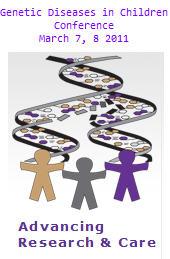 Genetic Diseases in Children Conference logo