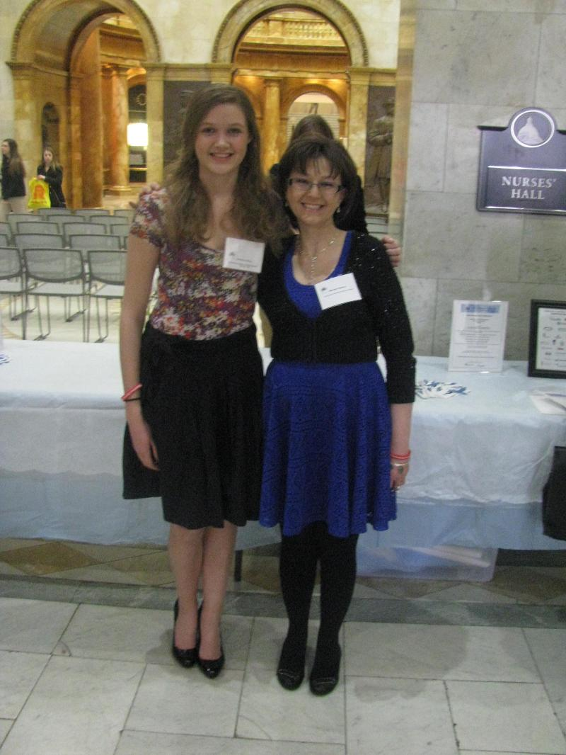 Michelle Pugliares and Gracie Van Brunt at RRD 2013