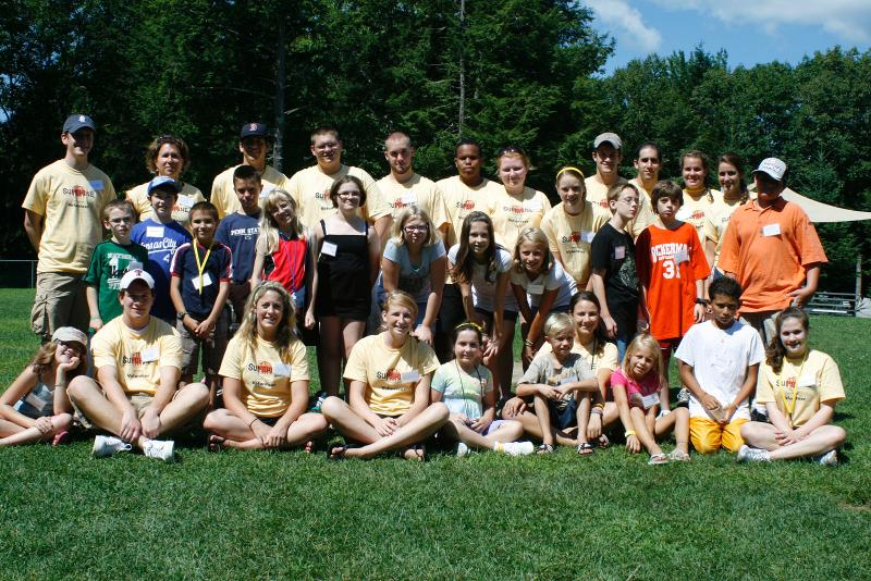 Camp Sunshine group shot