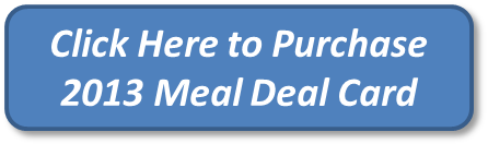 2013 Meal Deal Card