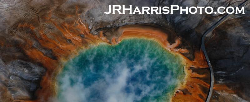 Grand Prismatic Spring Jim R Harris Photo