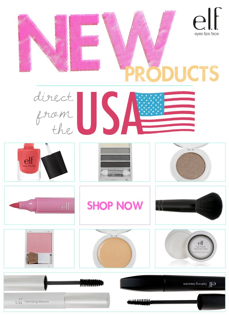 NEW products direct from the USA