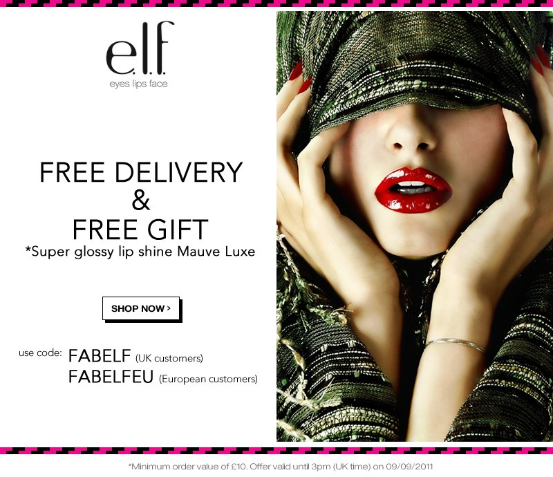 Free Delivery and Free Gift